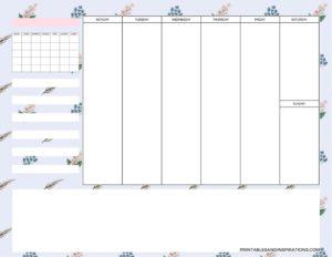 weekly simple planner - 01