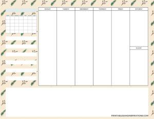 weekly simple planner - 02