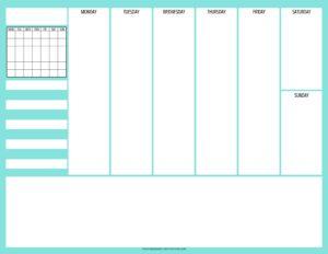 weekly simple planner - 03