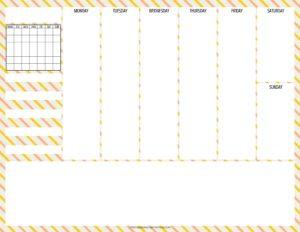 weekly simple planner - 06