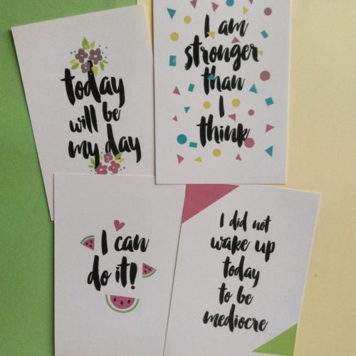 карточки мотиваторы
