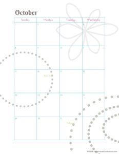 страницы планера на октябрь - фото 2