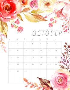 планер распечатать октябрь 2017