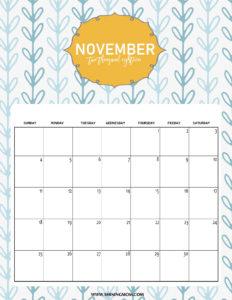 список дел на ноябрь