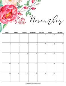 планер на ноябрь 2018 - вертикальный