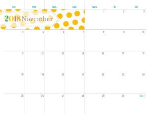 планер на ноябрь - распечатать