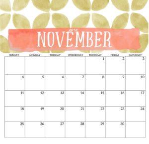 планнер на ноябрь