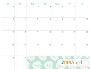 Разворот на апрель