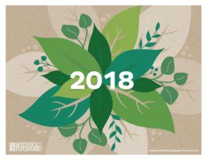 Эко-календарь 2018