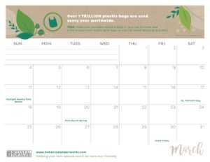 planner 2018 - March