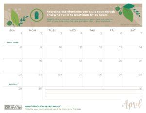 planner 2018 - April