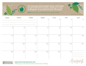planner 2018 - August