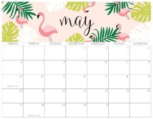 календарь 2018 - май