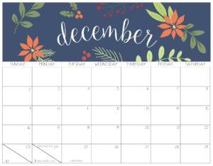 календарь 2018 - декабрь