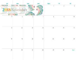Разворот на ноябрь