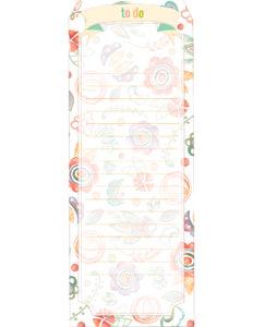 Закладка цветочная
