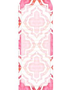 Закладка розовая