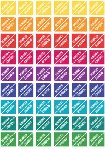 стикеры для планера - напоминалки