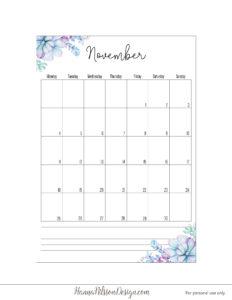 Планер 2019 с понедельника - ноябрь