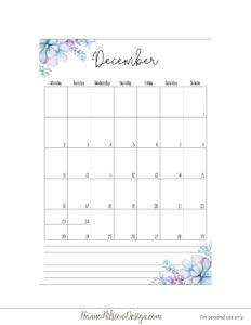Планер 2019 с понедельника - декабрь