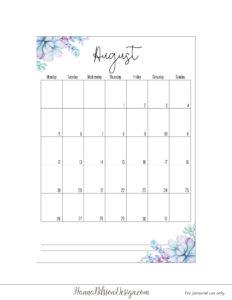 Планер 2019 с понедельника - август