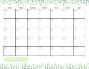 Календарь-планер на 2019 год