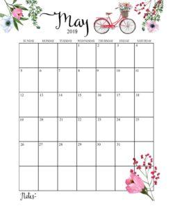 Календарь-планер на май 2019