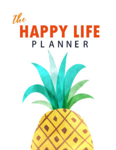 The Happy Life Planner 2019 - page 1