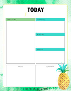 The Happy Life Planner 2019 - page 12