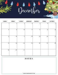 December 2019 planner