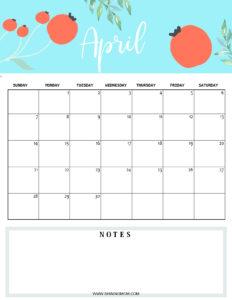 April 2019 planner