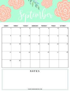 September 2019 planner